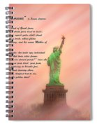 The New Colossus Spiral Notebook