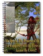 Princess Of The Sacred Lake Spiral Notebook