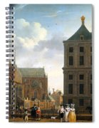 The Nieuwe Kerk And The Rear Of The Town Hall In Amsterdam  Spiral Notebook