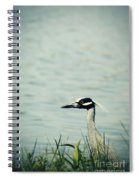 The Night Heron Spiral Notebook