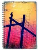 The Night Keeper Spiral Notebook