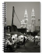 The Night Market Spiral Notebook