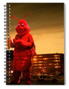 The Night Of The Lobster Man Spiral Notebook