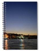 Istanbul Nights Spiral Notebook