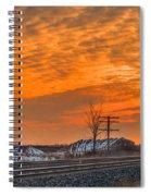 The Night Train Spiral Notebook
