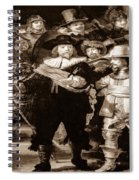 The Night Watch By Rembrandt Spiral Notebook