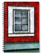 The Night Window Spiral Notebook