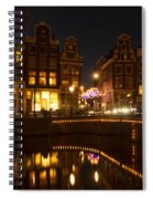 The Nine Streets Amsterdam Spiral Notebook