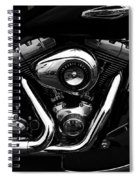 The Noble Steed Spiral Notebook
