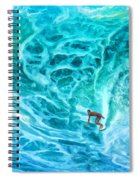 The North Shore Optimist Spiral Notebook