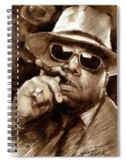 The Notorious B.i.g. Spiral Notebook