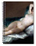 The Nude Maja Spiral Notebook