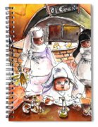 The Nuns Of Toledo 02 Spiral Notebook