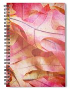 The Oak Leaf Pile Spiral Notebook