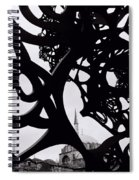The Obscured Mosque Spiral Notebook