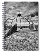 The Observatory Monochrome Spiral Notebook