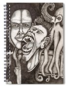 The Octopus And The Television Spiral Notebook