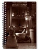 The Old Apothecary Shop Spiral Notebook