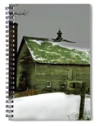 The Old Barn 4 Spiral Notebook