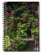 The Old Barn Window Spiral Notebook