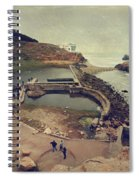 The Old Bath House Spiral Notebook