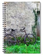 The Old Bike In The Irish Countryside Spiral Notebook
