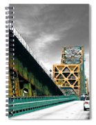The Old Bridge Hwy 190 Mississippi River Bridge Baton Rouge Spiral Notebook