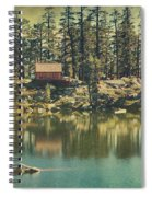 The Old Days By The Lake Spiral Notebook
