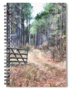 The Old Deer Gate Spiral Notebook