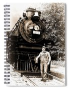 The Old Engineer Spiral Notebook