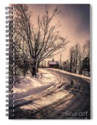 The Old Farm Down The Road Spiral Notebook
