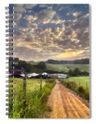 The Old Farm Lane Spiral Notebook