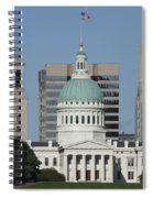 The Old Federal Courthouse St Louis Spiral Notebook