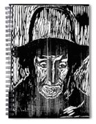 The Old Fisherman, 1899 Spiral Notebook