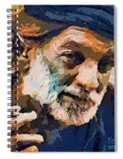 The Old Fisherman Spiral Notebook