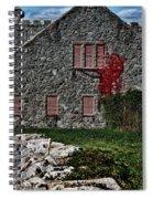 The Old Fort Bristol Rhode Island Spiral Notebook
