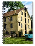 The Old Grist Mill  Paoli Pa. Spiral Notebook