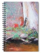 The Old Gum By The Creek Spiral Notebook