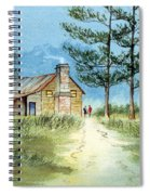 The Old Homestead Spiral Notebook