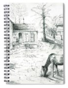 The Old Horse Farm Spiral Notebook