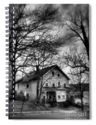 The Old House Down The Street Spiral Notebook
