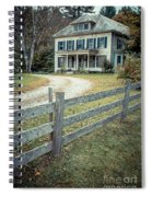 The Old House On The Hill  Spiral Notebook