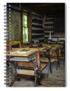 The Old Mikado Bailey School House Spiral Notebook