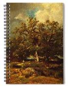 The Old Oak Spiral Notebook
