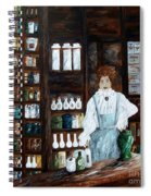 The Old Pharmacy ... Medicine In The Making Spiral Notebook