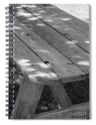 The Old Picnic Table Spiral Notebook