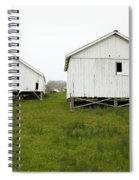 The Old Pierce Point Ranch At Foggy Point Reyes California 5d28140 Spiral Notebook