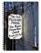 The Old Pilchard Press Spiral Notebook
