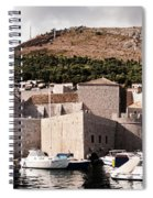 The Old Port Under The Ramparts Spiral Notebook