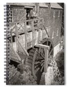 The Old Saw Mill Spiral Notebook